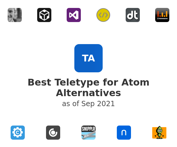 Best Teletype for Atom Alternatives