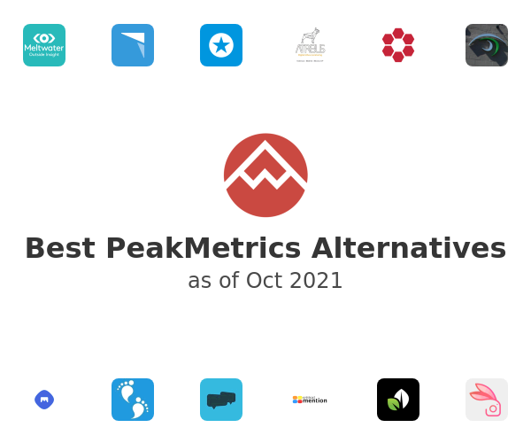 Best PeakMetrics Alternatives