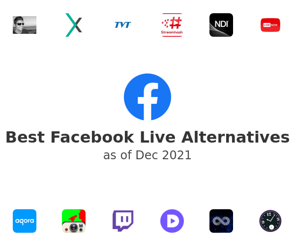 Best Facebook Live Alternatives