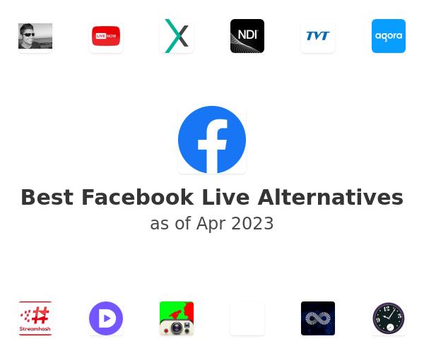 Best Facebook Live Alternatives