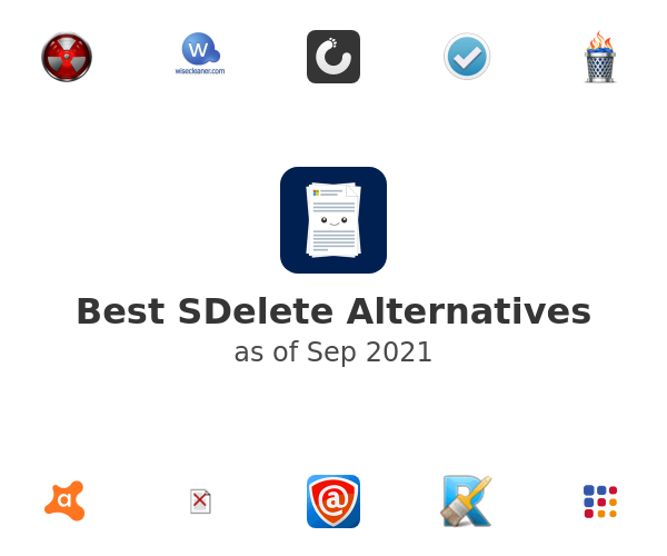 Best SDelete Alternatives