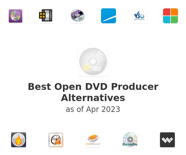 Best Open DVD Producer Alternatives