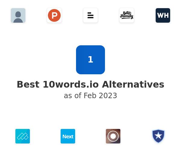 Best 10words.io Alternatives