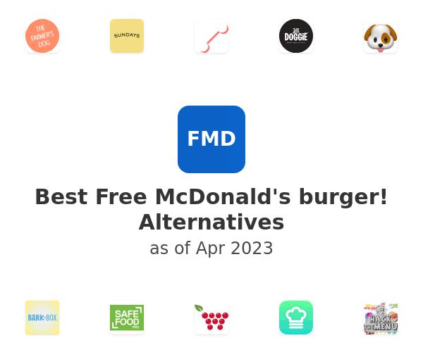 Best Free McDonald's burger! Alternatives