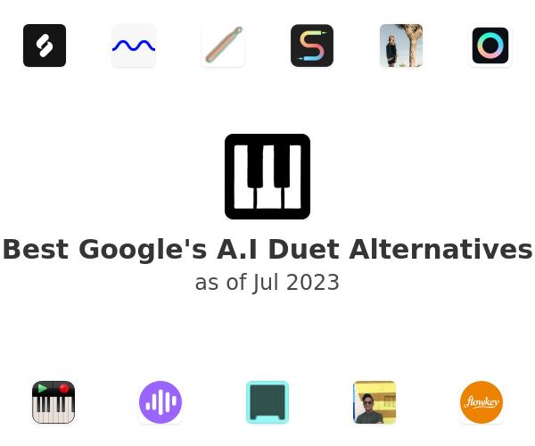Best Google's A.I Duet Alternatives