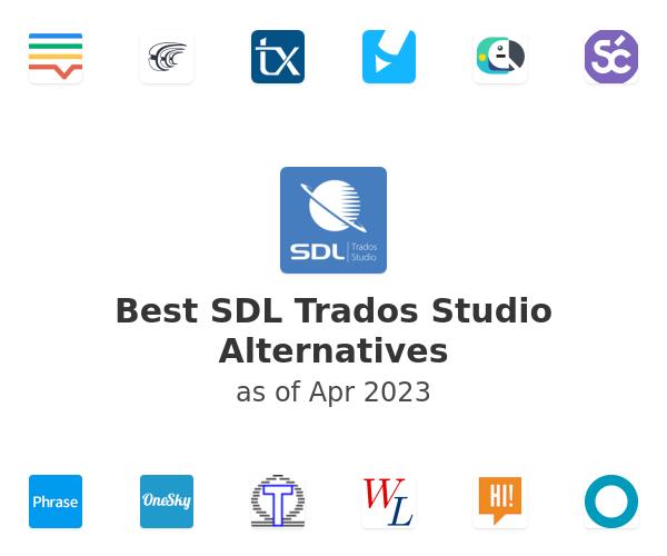 Best SDL Trados Studio Alternatives