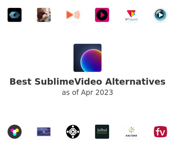 Best SublimeVideo Alternatives