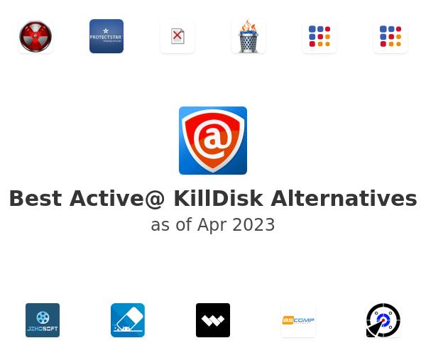 Best Active@ KillDisk Alternatives