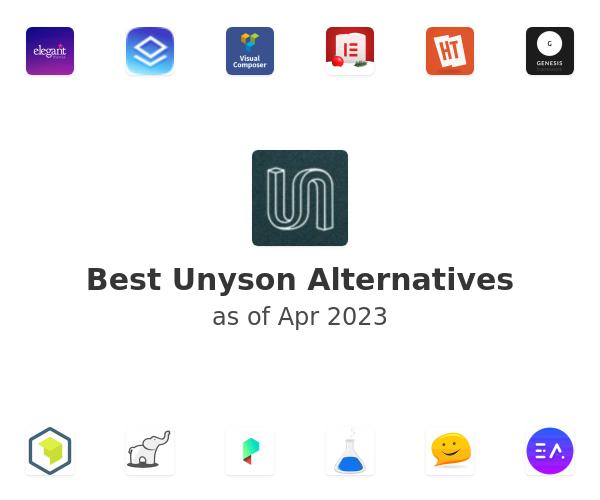Best Unyson Alternatives