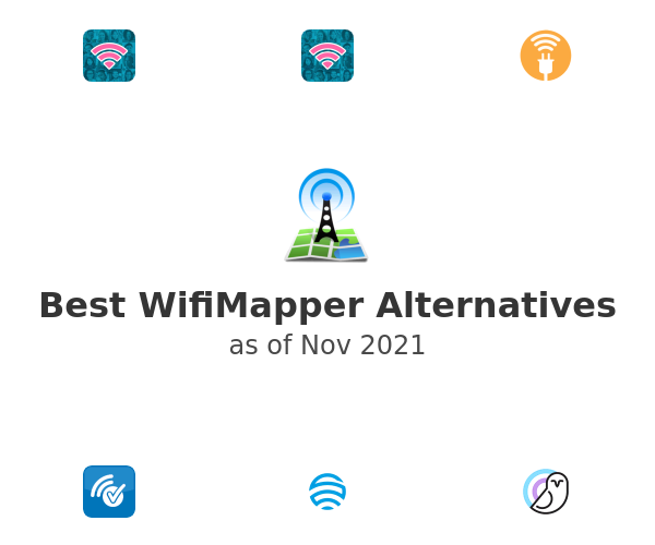 Best WifiMapper Alternatives