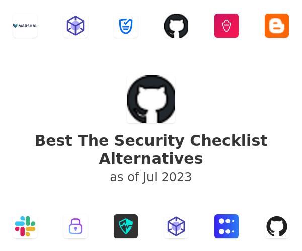 Best The Security Checklist Alternatives