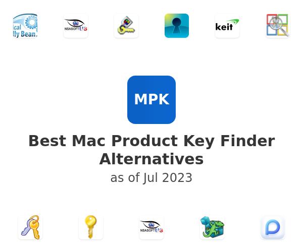 Best Mac Product Key Finder Alternatives