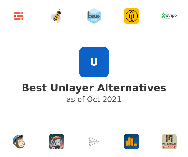 Best Unlayer Alternatives