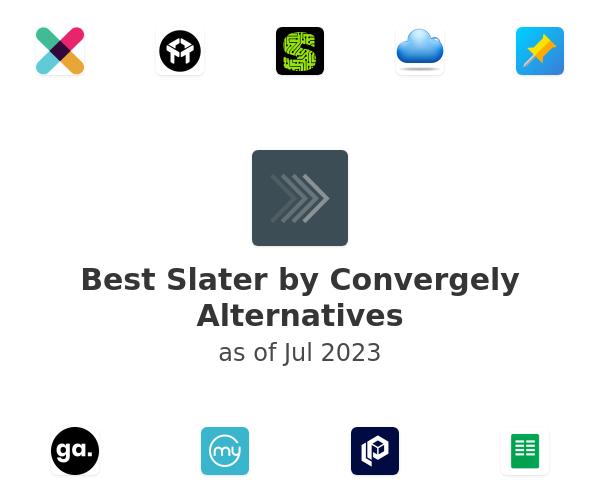 Best Slater by Convergely Alternatives