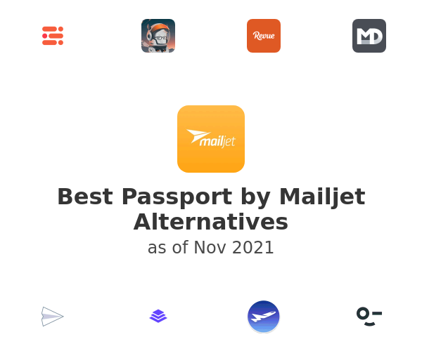 Best Passport by Mailjet Alternatives