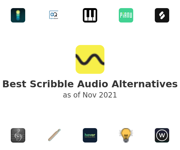 Best Scribble Audio Alternatives