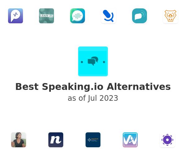 Best Speaking.io Alternatives