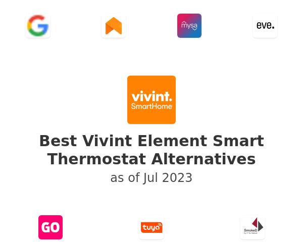Best Vivint Element Smart Thermostat Alternatives