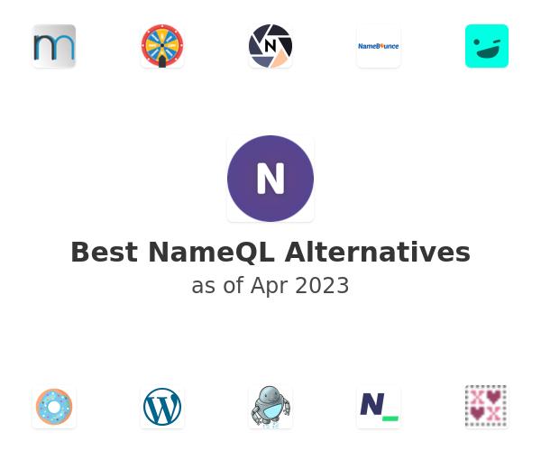 Best NameQL Alternatives