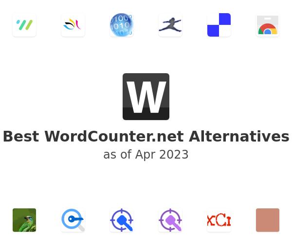 Best WordCounter.net Alternatives