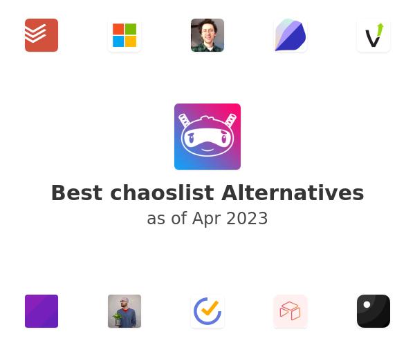 Best chaoslist Alternatives