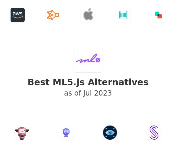 Best ML5.js Alternatives