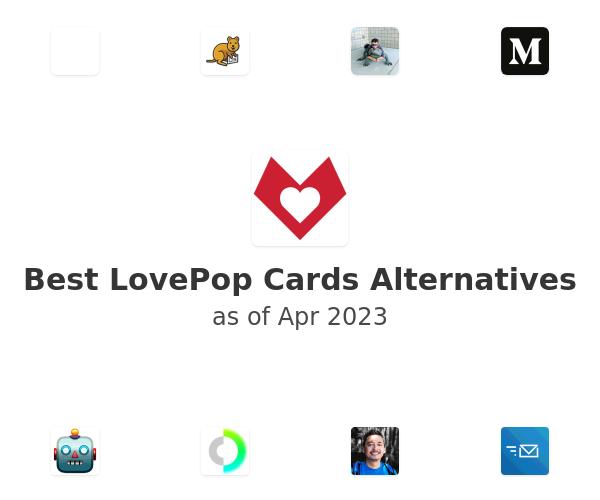 Best LovePop Cards Alternatives