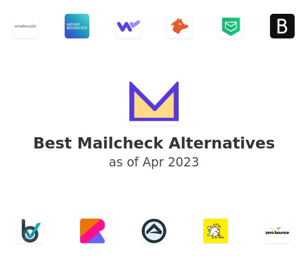 Best Mailcheck Alternatives