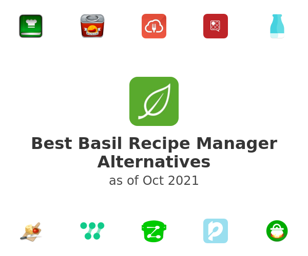 Best Basil Recipe Manager Alternatives