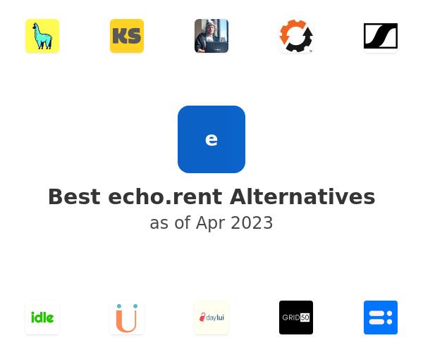 Best echo.rent Alternatives