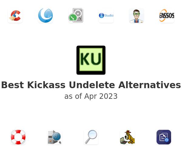 Best Kickass Undelete Alternatives
