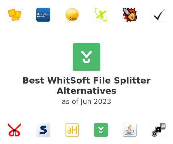Best WhitSoft File Splitter Alternatives