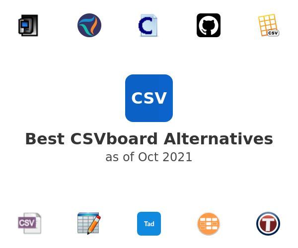 Best CSVboard Alternatives