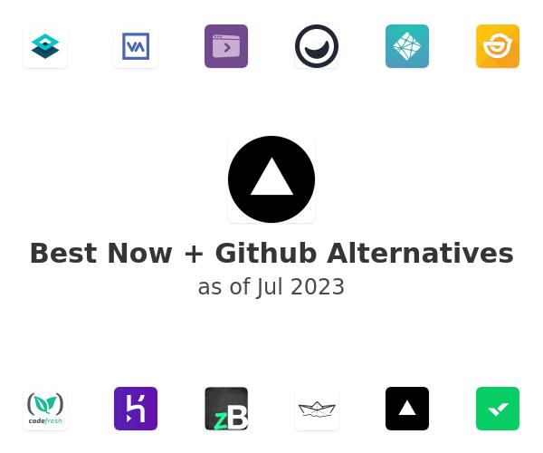 Best Now + Github Alternatives
