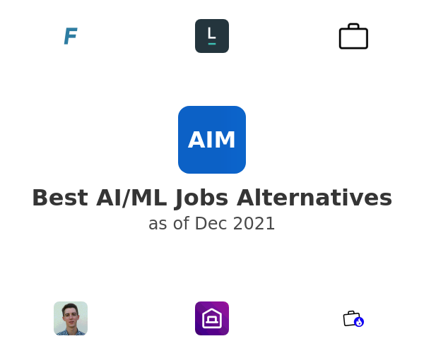 Best AI/ML Jobs Alternatives