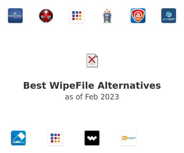 Best WipeFile Alternatives