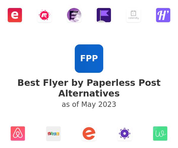 Best Flyer by Paperless Post Alternatives