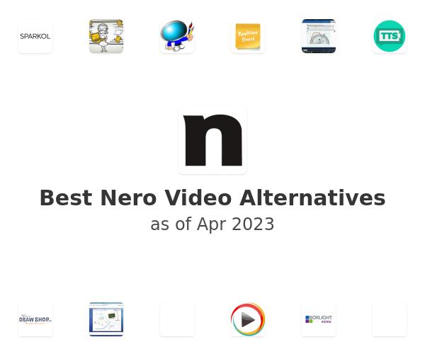 Best Nero Video Alternatives