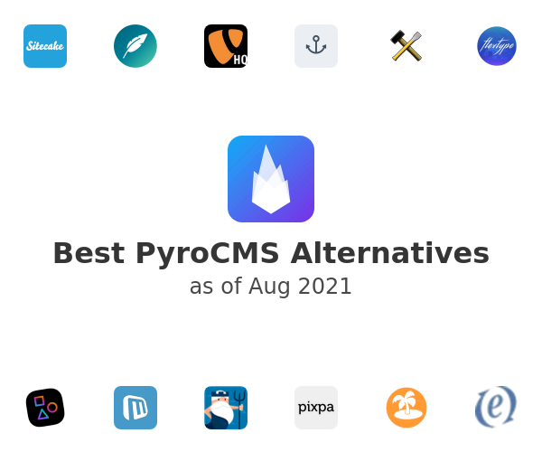 Best PyroCMS Alternatives