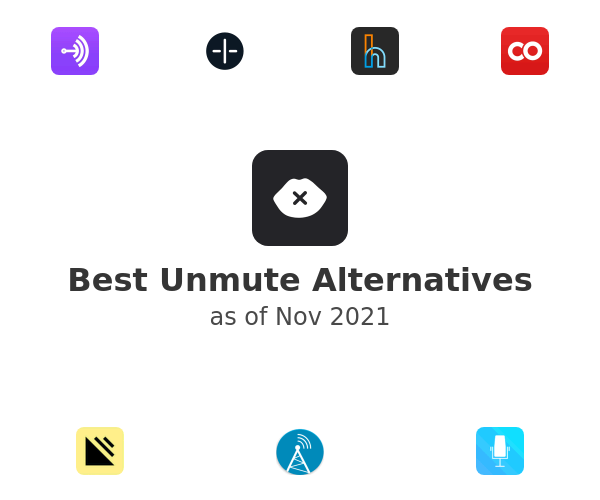 Best Unmute Alternatives