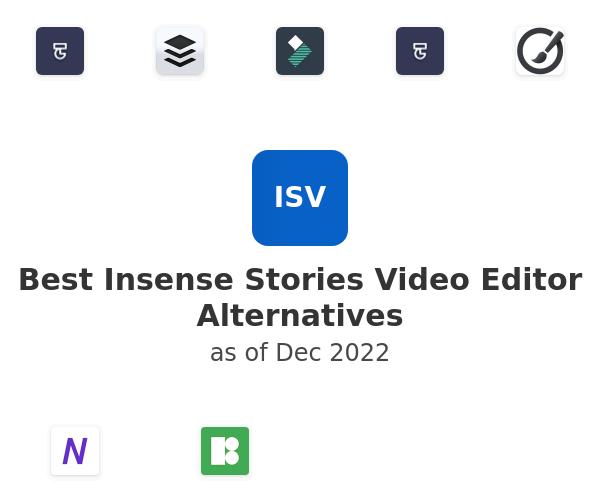 Best Insense Stories Video Editor Alternatives