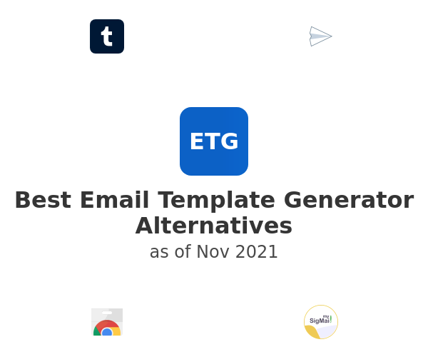 Best Email Template Generator Alternatives