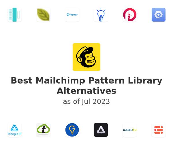 Best Mailchimp Pattern Library Alternatives