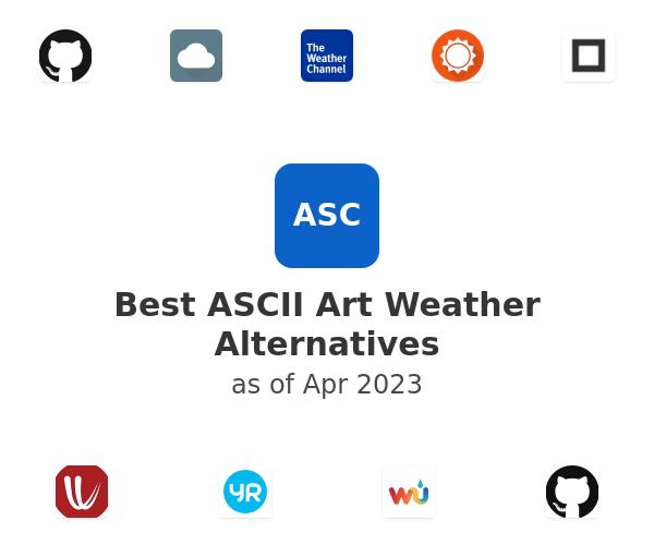 Best ASCII Art Weather Alternatives