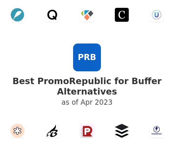 Best PromoRepublic for Buffer Alternatives