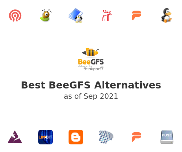 Best BeeGFS Alternatives