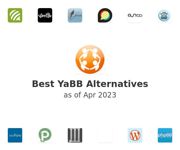 Best YaBB Alternatives