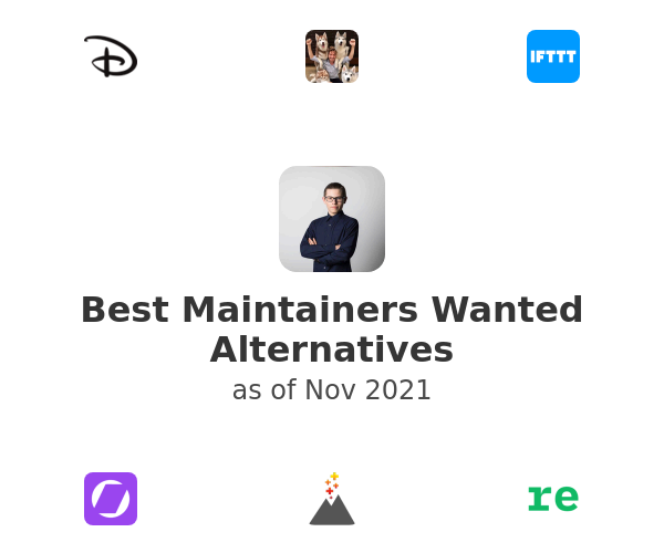 Best Maintainers Wanted Alternatives