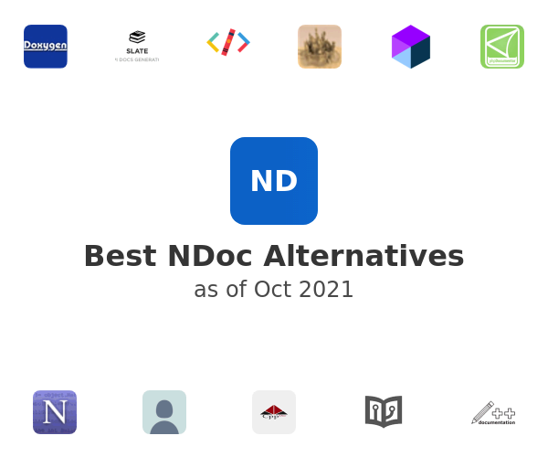 Best NDoc Alternatives