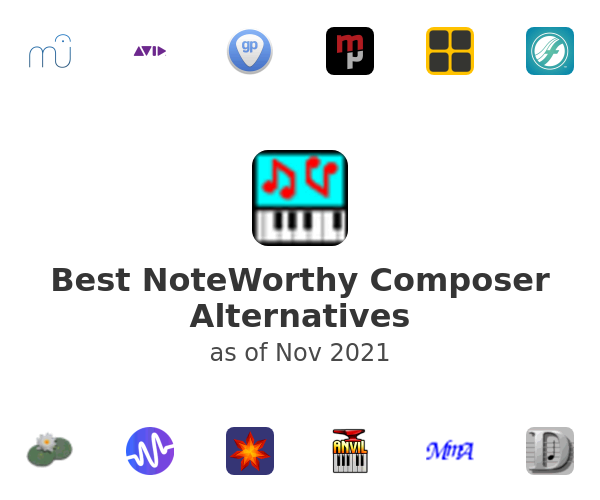 Best NoteWorthy Composer Alternatives